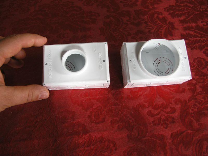 scatola per segnapasso a parete TEKPFG B07